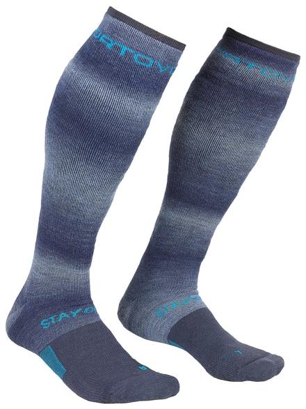 Ortovox Ski Stay Or Go Tech skisokken blauw