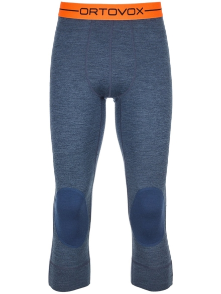 Ortovox 185 Rock'N'Wool Short Tech broek blauw