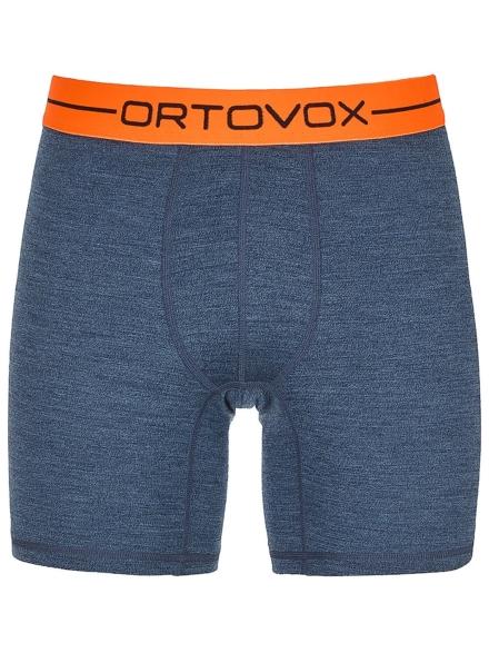 Ortovox 185 Rock'N'Wool Boxershorts blauw