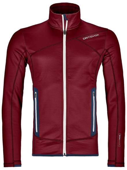 Ortovox Fleece Ski jas rood