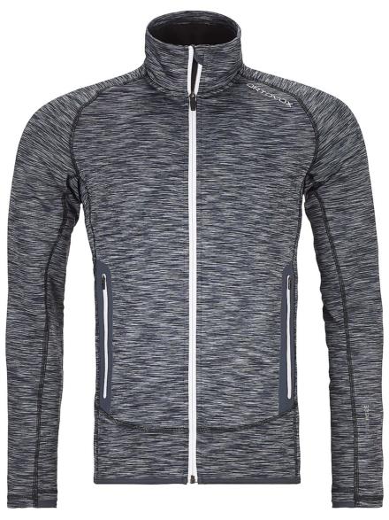 Ortovox Space Dyed Fleece Ski jas zwart