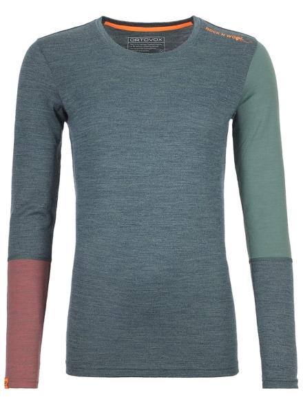 Ortovox Merino 185 Rock'n'Wool Tech t-shirt met lange mouwen groen