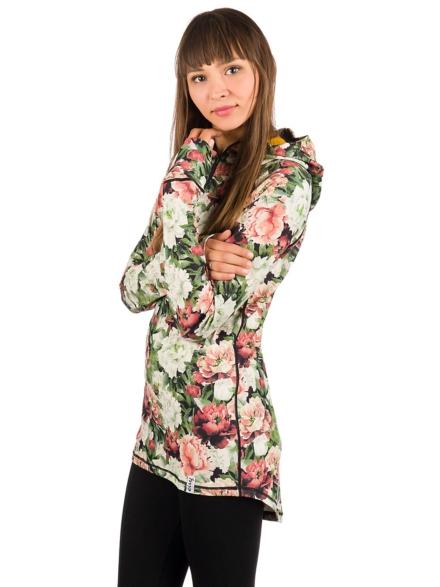 Eivy Icecold Zip Hood Tech t-shirt met lange mouwen patroon