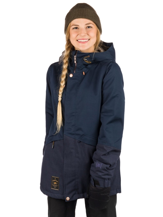 L1 Lalena Ski jas blauw