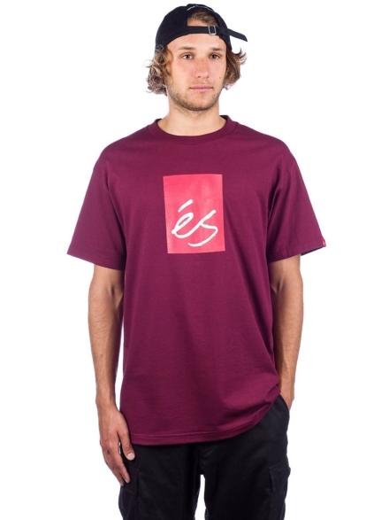 Es Main Block T-Shirt rood
