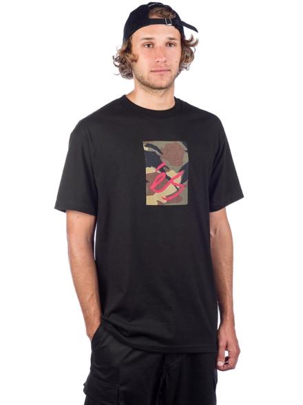 Es Main Block T-Shirt zwart