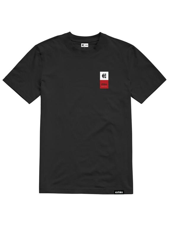 Etnies Eblock Stack T-Shirt zwart