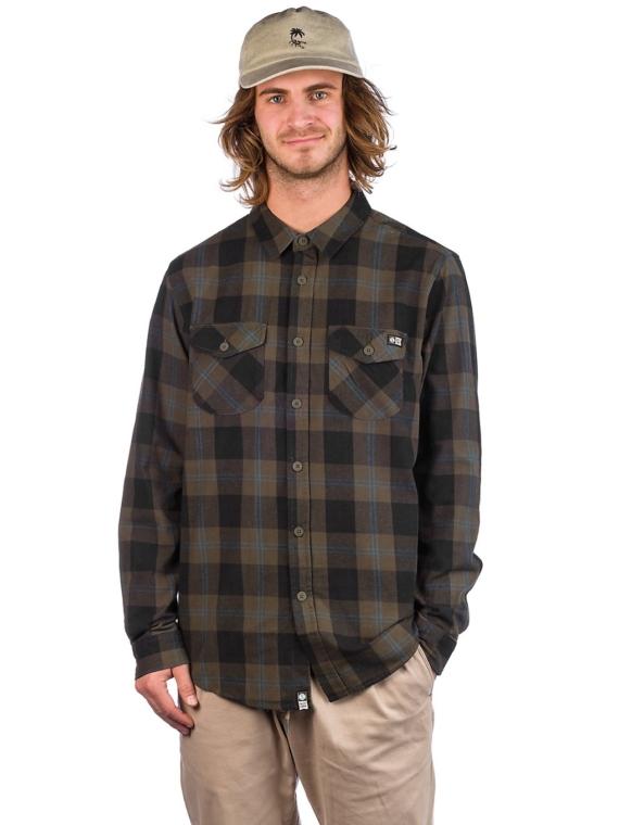 Salty Crew Inshore Flannel Shirt groen