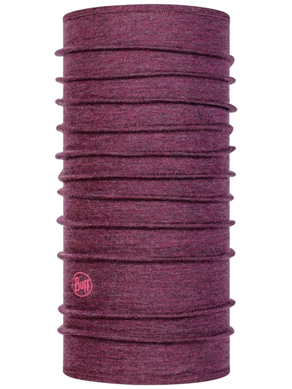 Buff Midweight Merino Wool Neck Warmer roze