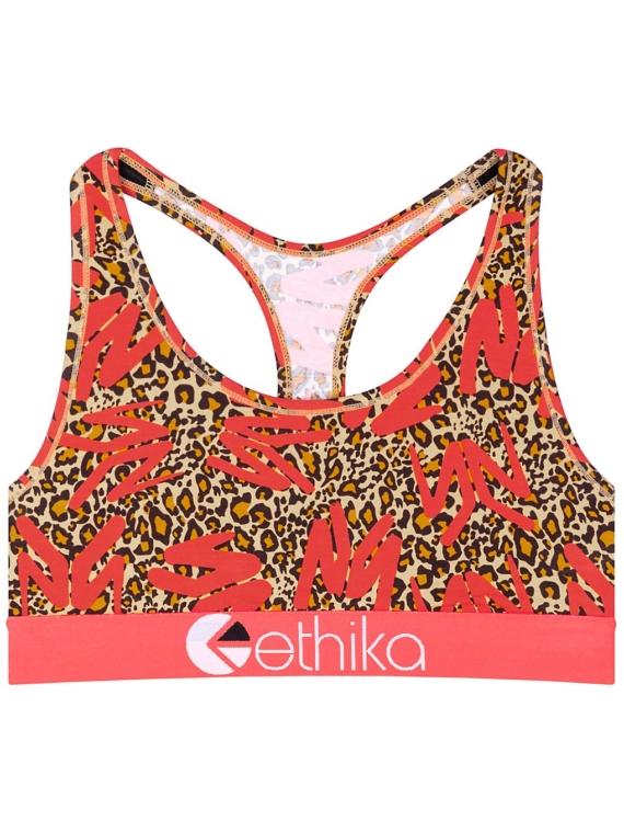 Ethika Ym Leopard S-Bra ondergoed rood
