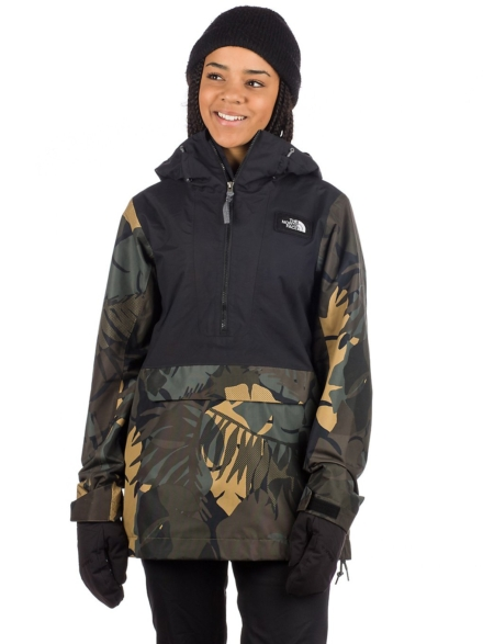 THE NORTH FACE Tanager Anorak zwart
