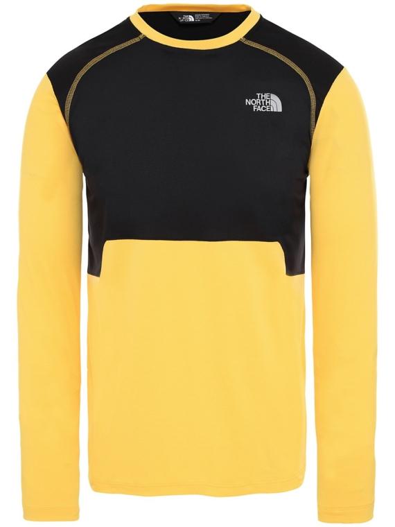 THE NORTH FACE Quest Tech t-shirt met lange mouwen geel