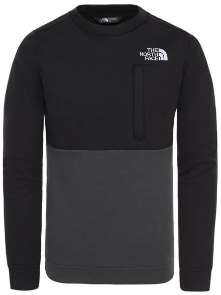 THE NORTH FACE Slacker Crew Fleece Pullover zwart