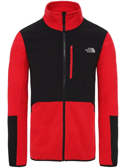 THE NORTH FACE Glacier Pro Ski jas rood