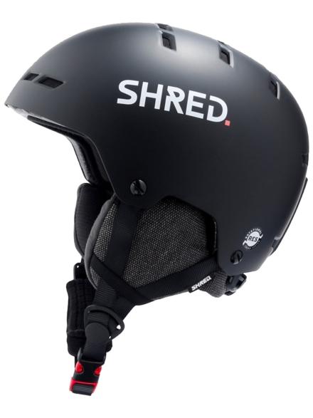 Shred Totality Noshock Skihelm zwart