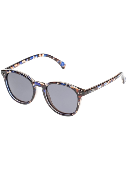 Le Specs Bandwagon Navy Fleck Tortoise blauw