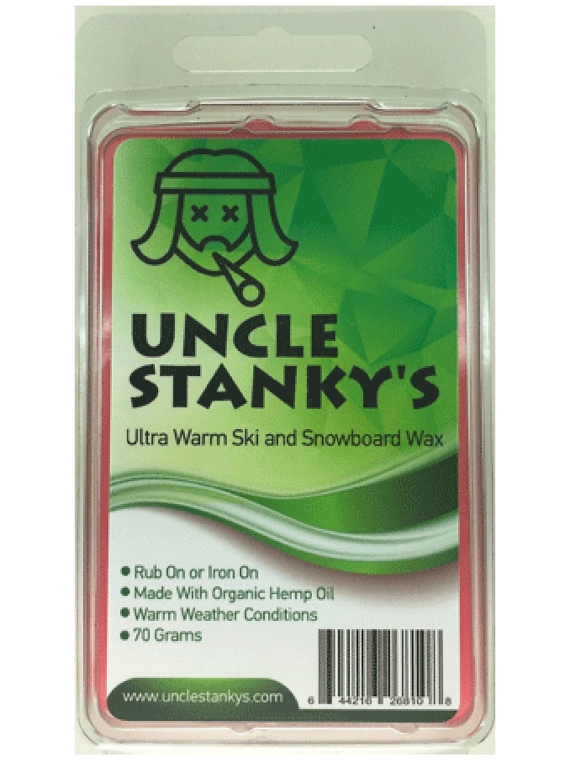 Uncle Stanky Strawberry Amnsesia 70g Wax patroon