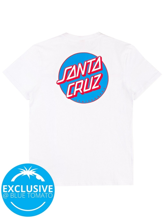 Santa Cruz X BT OG Classic Dot T-Shirt wit