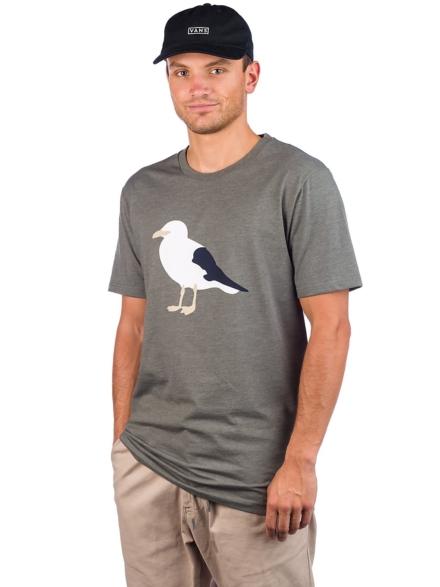 Cleptomanicx Gull 3 T-Shirt groen