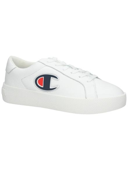 Champion Era lederen Sneakers wit