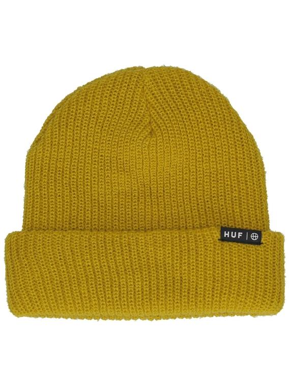 HUF Essentials Usual Beanie geel