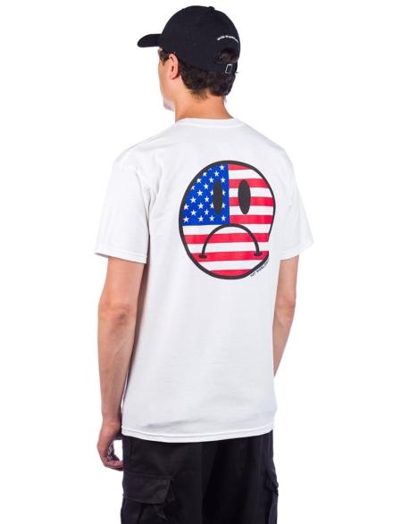 HUF Bummer Usa T-Shirt wit