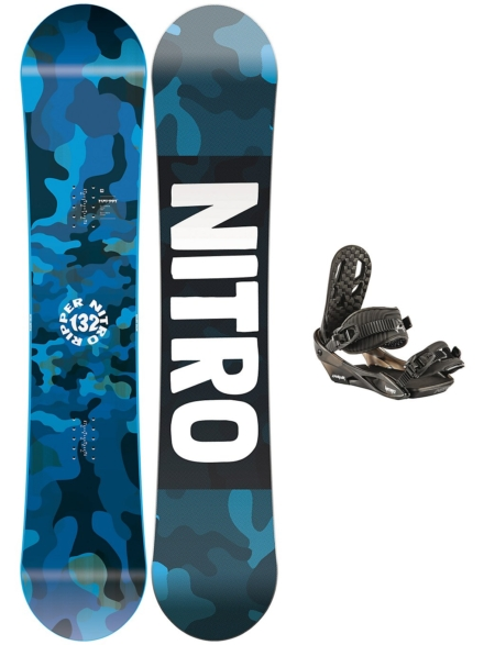 Nitro Ripper 132 2020 + Charger 2020 patroon