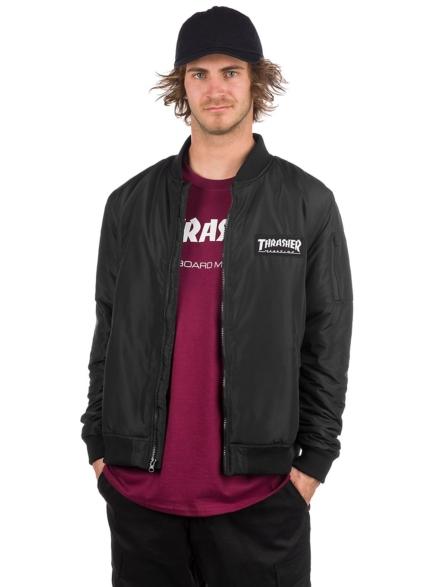 Thrasher Bomber Ski jas zwart