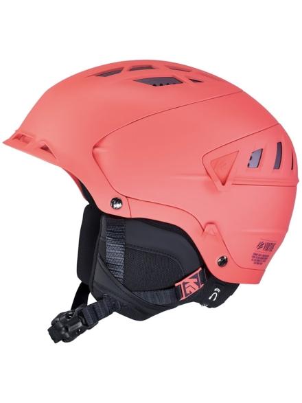 K2 Virtue Skihelm oranje