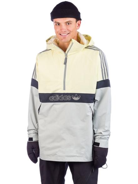 adidas Snowboard Bb Snowbreaker Ski jas geel