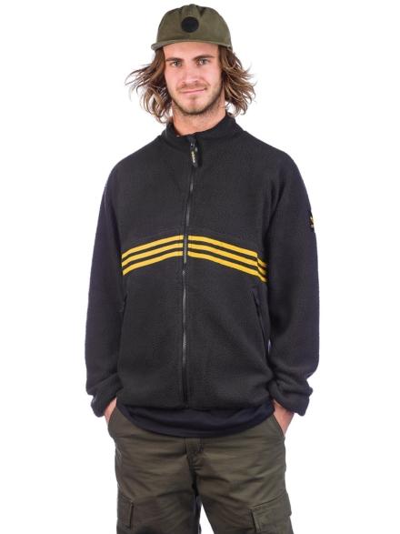 adidas Skateboarding Sherpa Full Zip Ski jas zwart