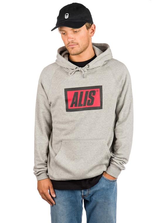 ALIS Classic Hoodie grijs
