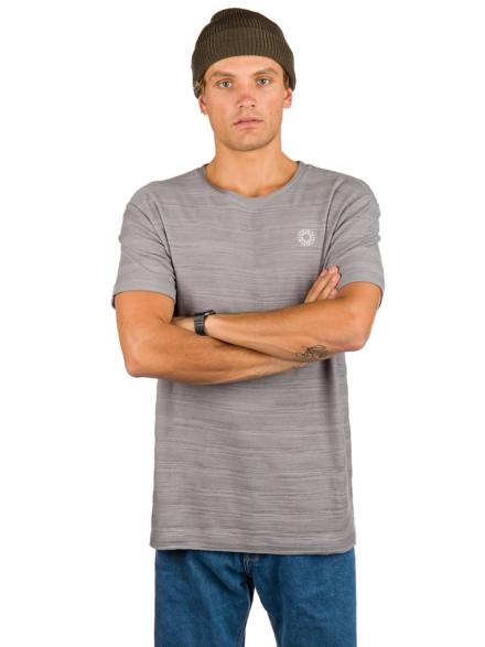 Rhythm Bangalow Textured T-Shirt blauw
