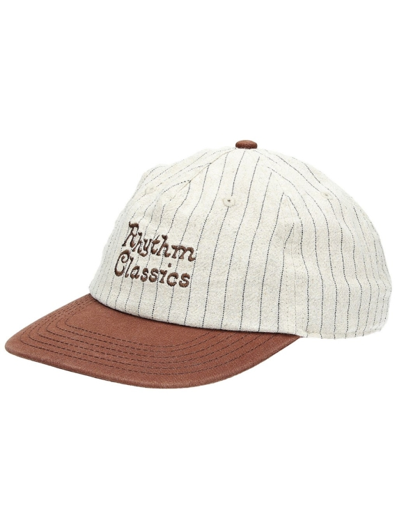 Rhythm Vintage Stripe petje bruin
