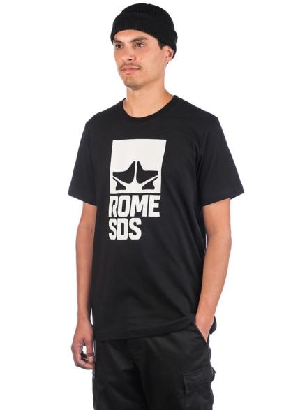 Rome Logo T-Shirt zwart