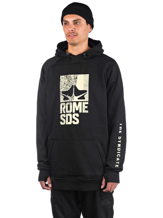 Rome Riding Shred Hoodie grijs