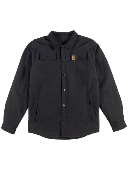 Rome Shacket Ski jas zwart