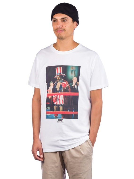 Dedicated Stockholm Creed T-Shirt wit