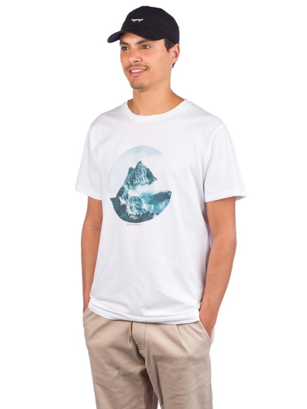 Dedicated Stockholm Back To Reality T-Shirt wit