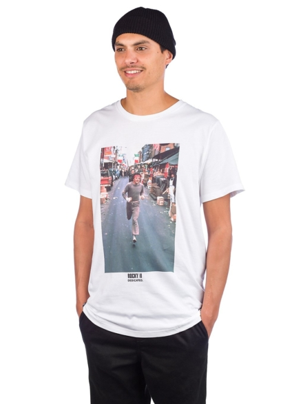 Dedicated Stockholm Rocky Run T-Shirt wit