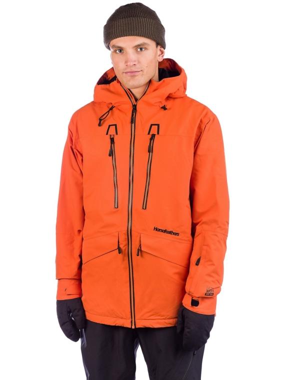 Horsefeathers Halen Tyler Ski jas oranje