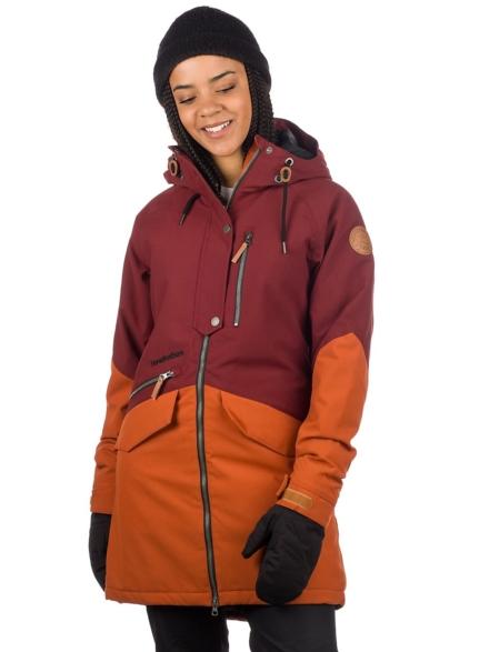 Horsefeathers Pola Ski jas rood