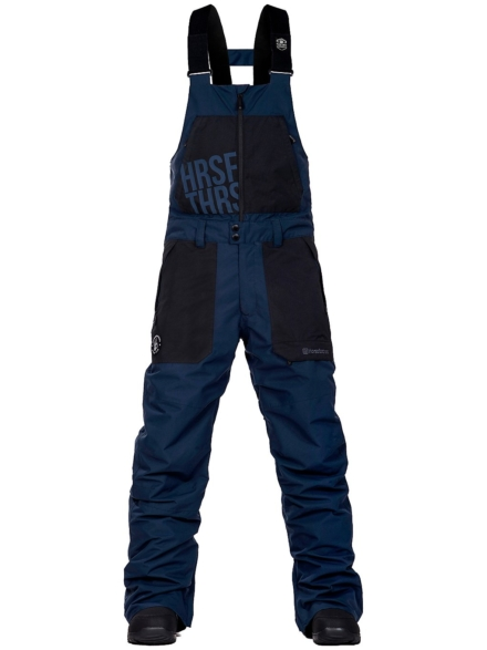 Horsefeathers Groover Atrip Bib broek blauw