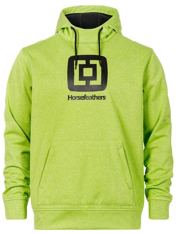 Horsefeathers Barry Premium Shred Hoodie groen