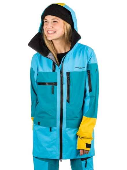 Peak Performance Vertical Ski jas blauw