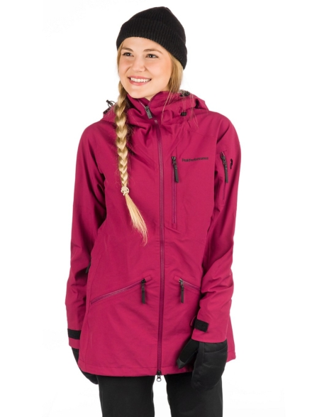 Peak Performance Radical Ski jas rood