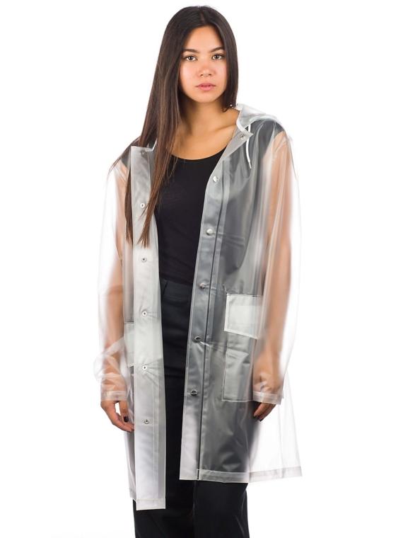 Rains Hooded jas wit