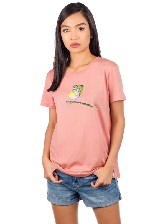 Iriedaily It Birdy T-Shirt roze