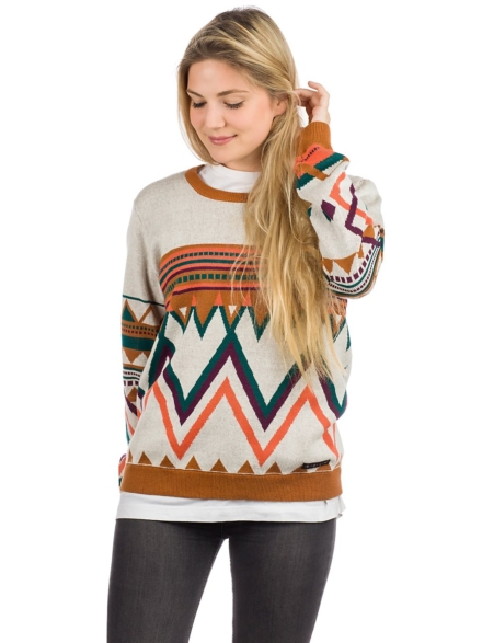 Iriedaily Hopi vest Pullover patroon