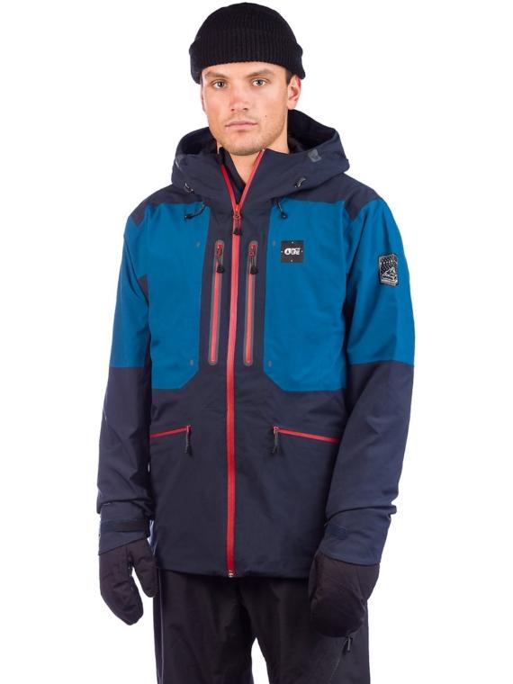 Picture Naikoon Ski jas blauw